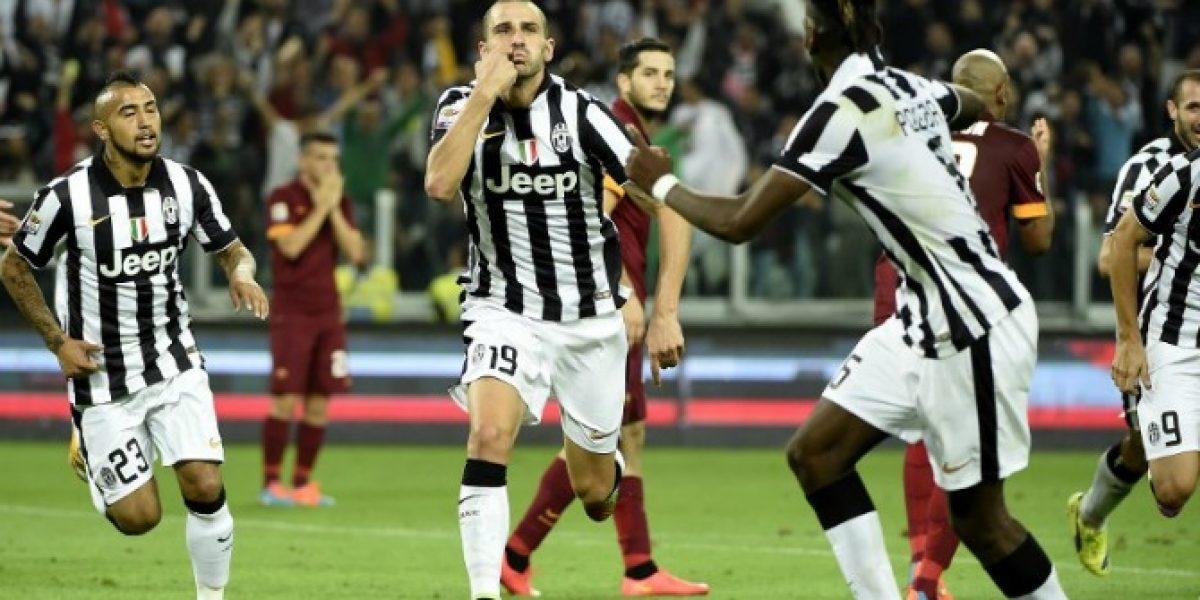 Sigue en racha: Un gol en los últimos minutos le da el triunfo a la Juve sobre la Roma