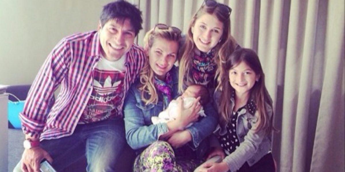 Familia Zamorano Alberó visitó a la recién nacida hija de Pancha Merino