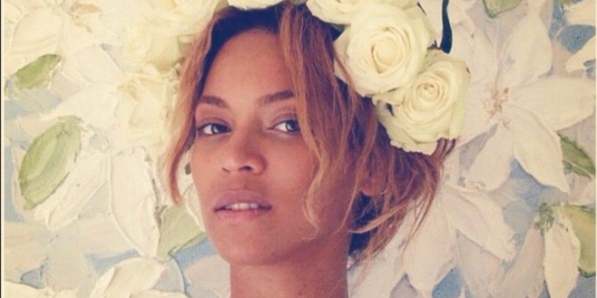 Beyoncé se atreve y sube foto a Instagram sin maquillaje