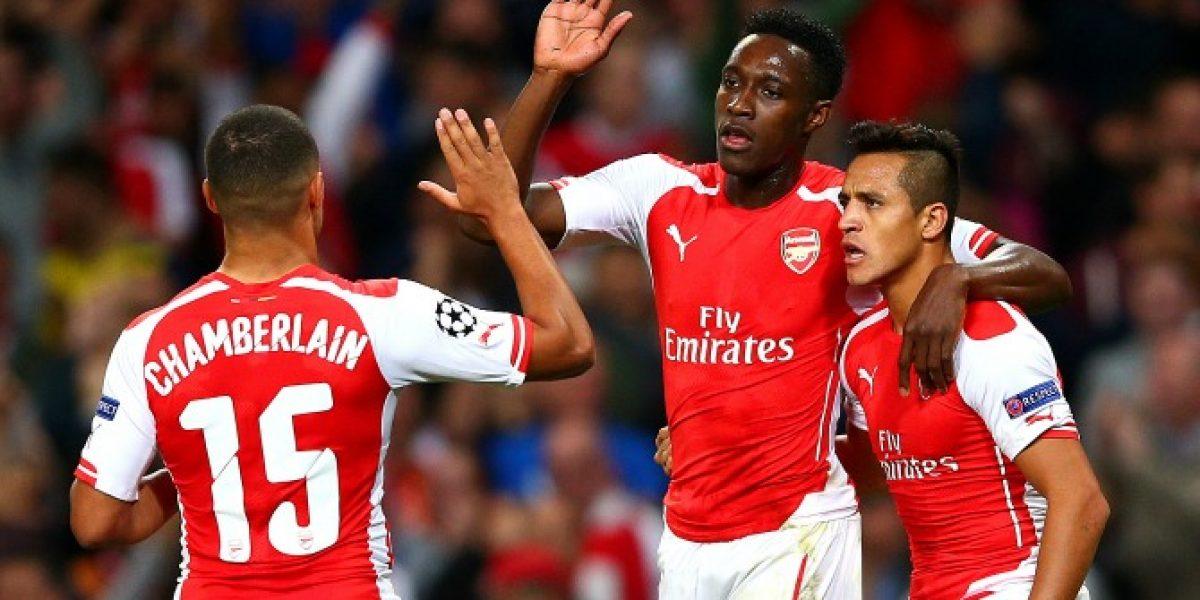 Gran actuación de Alexis no le bastó a Arsenal para vencer al líder