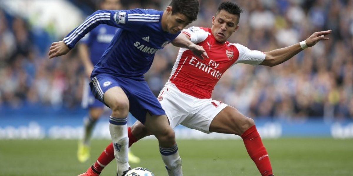 Correcta actuación de Alexis no le bastó a Arsenal para vencer al líder