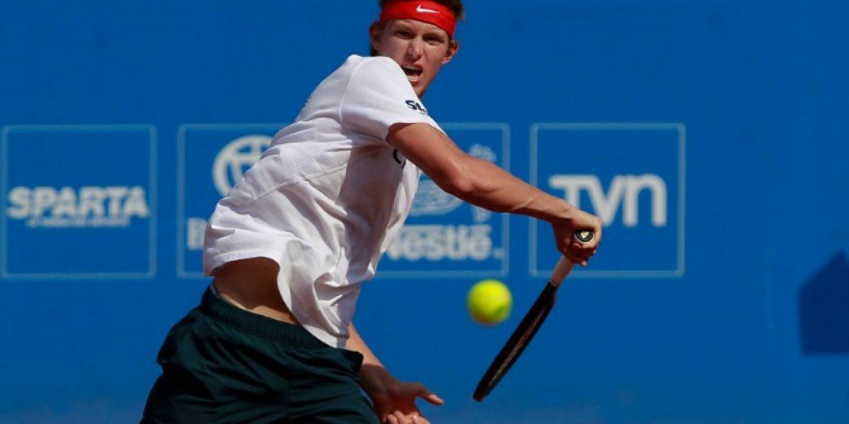 Nicolás Jarry tuvo otro importante ascenso en el ranking ATP y acecha a Podlipnik