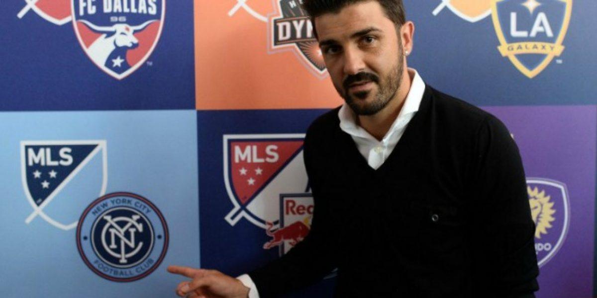 David Villa empieza con su aventura en el fútbol de Australia