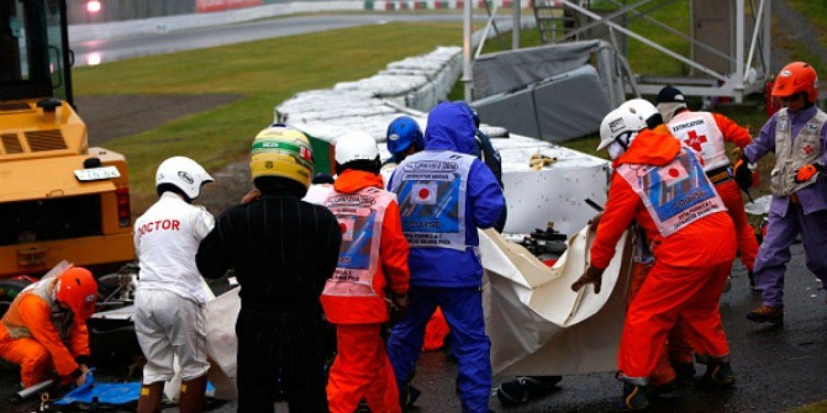Jules Bianchi está en estado