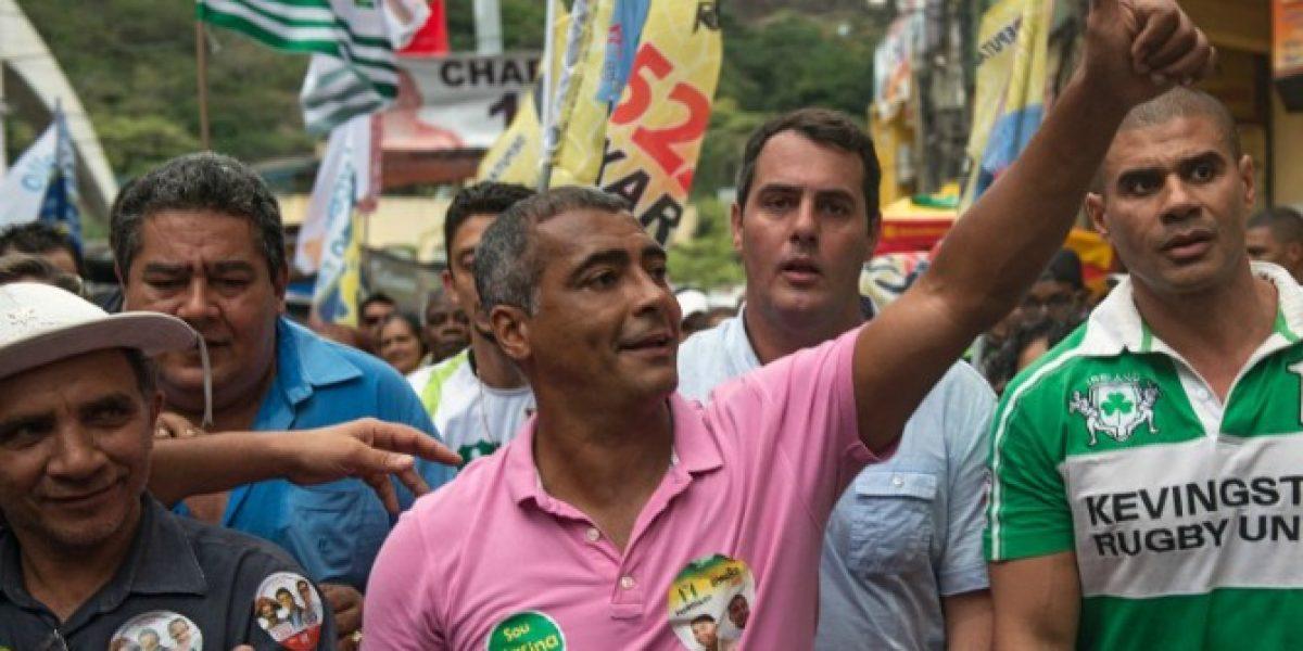 Romario fue el candidato a senador más votado en la historia de Río