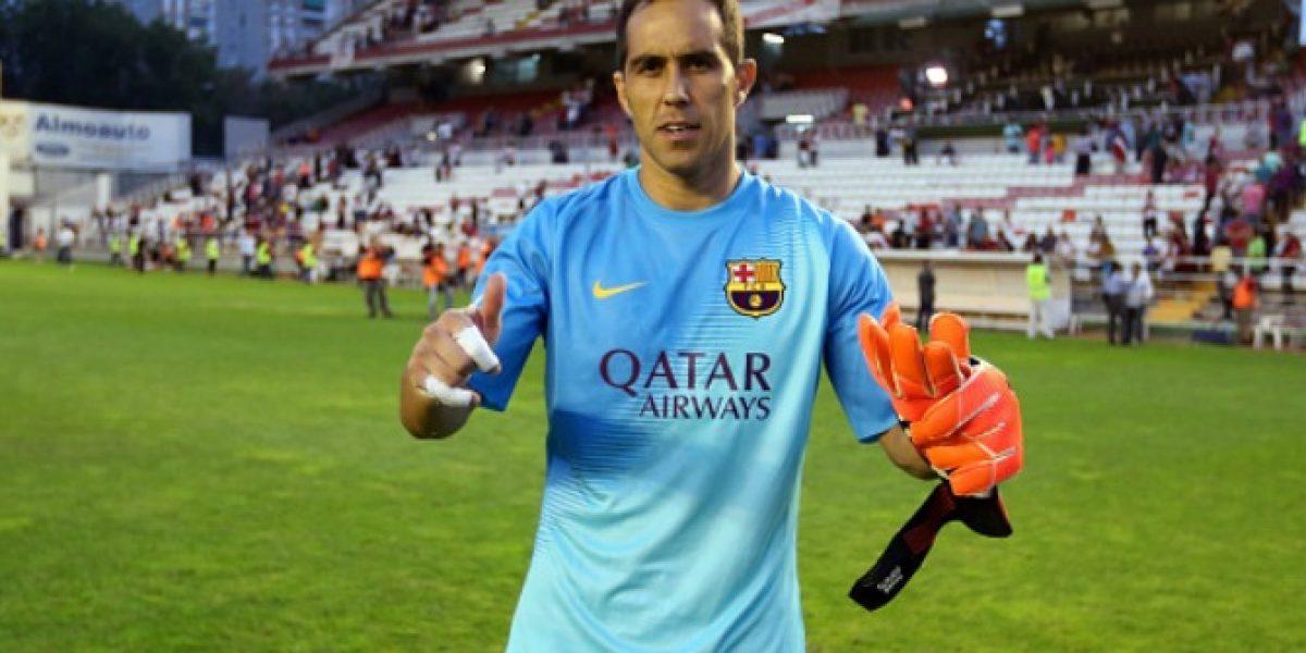 Barcelona destacó los otros récords a los que aspira Claudio Bravo