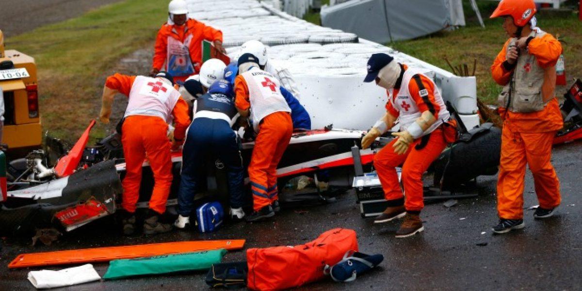 Leyenda francesa de la F1 culpó a la organización por grave accidente