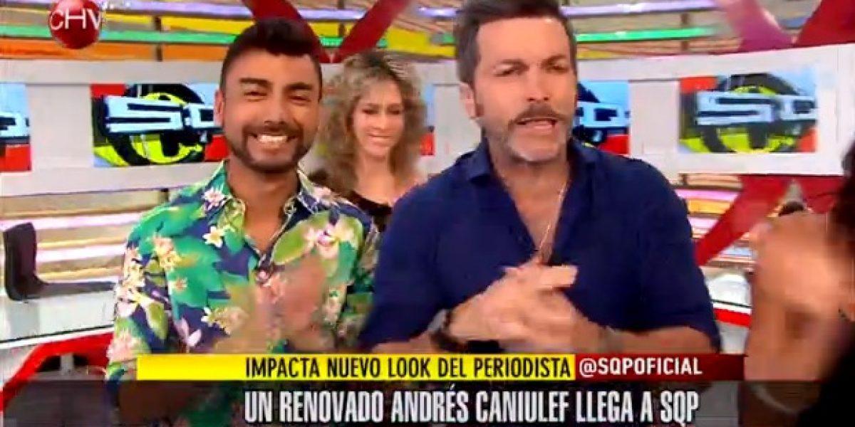 Andrés Caniulef debutó en