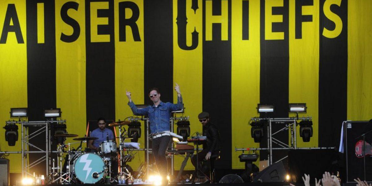 Kaiser Chiefs invitados del concierto de Foo Fighters en Chile