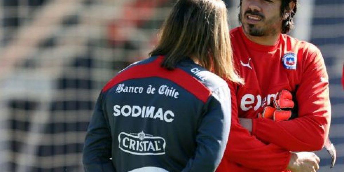 La Roja se reunió y tuvo su primera práctica de cara a los duelos con Perú y Bolivia