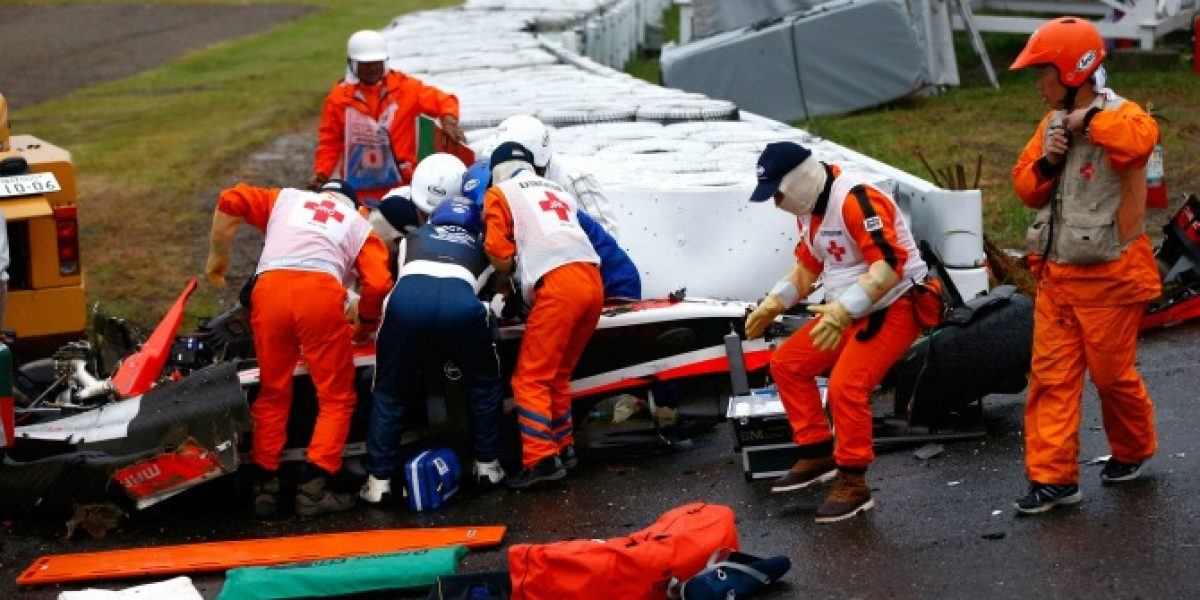 Jules Bianchi sufre severo daño cerebral tras grave accidente
