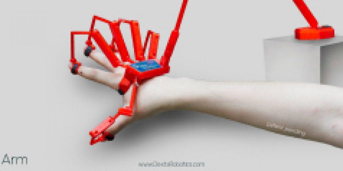 Video: Conoce el guante robótico que simula el sentido del tacto