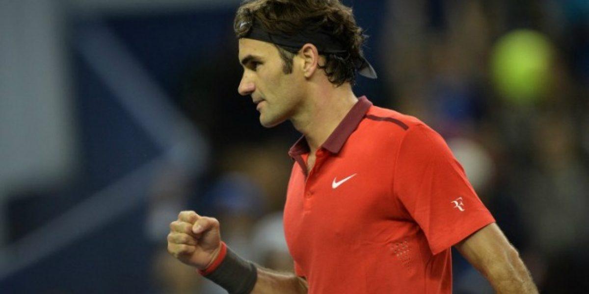 El Gigante quedó chico: la impactante foto de Federer con Yao Ming