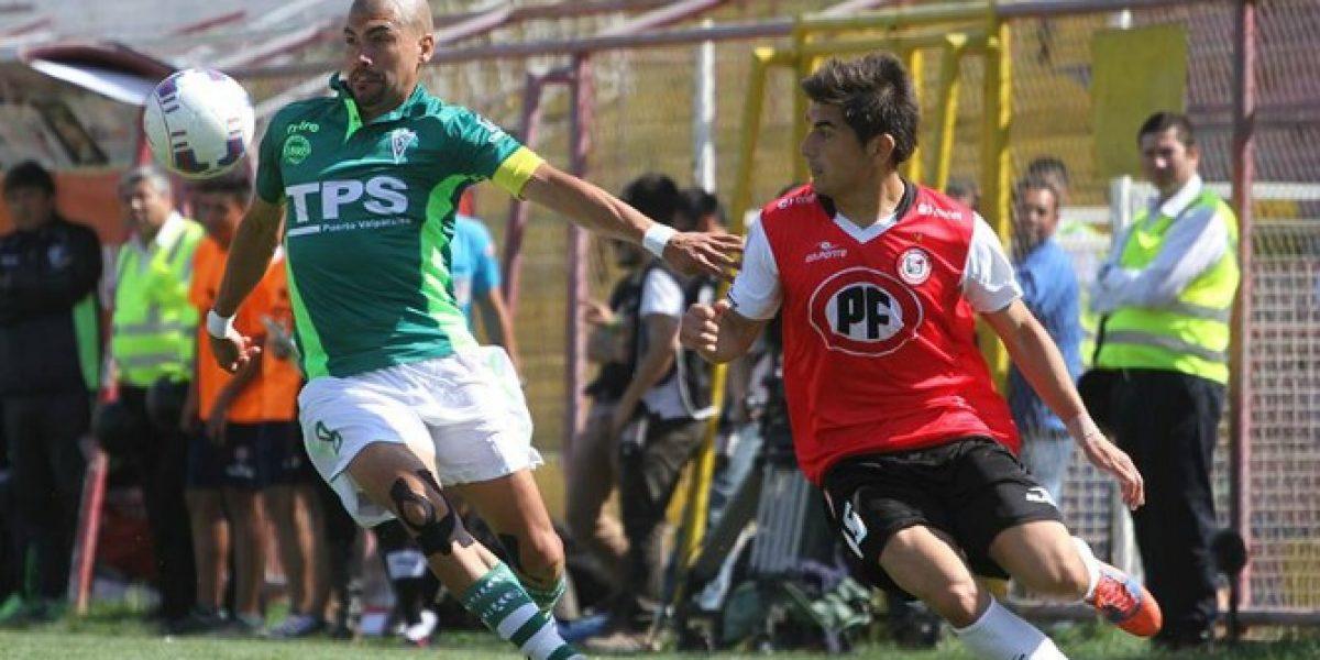 Wanderers hizo sentir su categoría en San Felipe y dio paso importante por Copa Chile