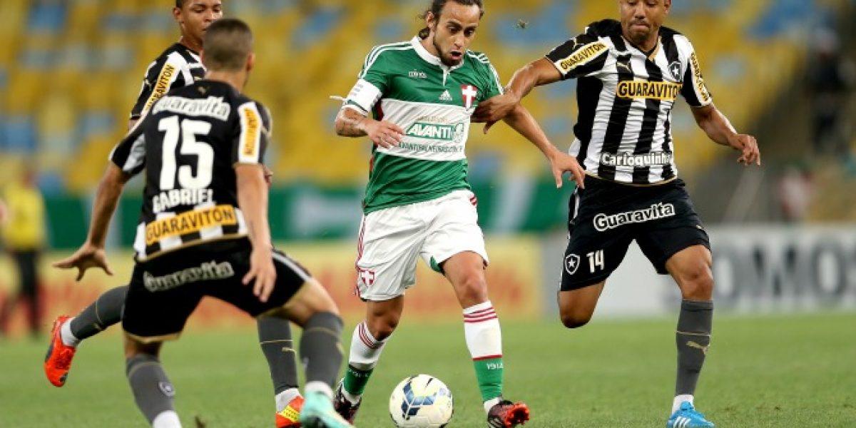 Valdivia fue titular y desplegó talento en importante triunfo de Palmeiras sobre Botafogo