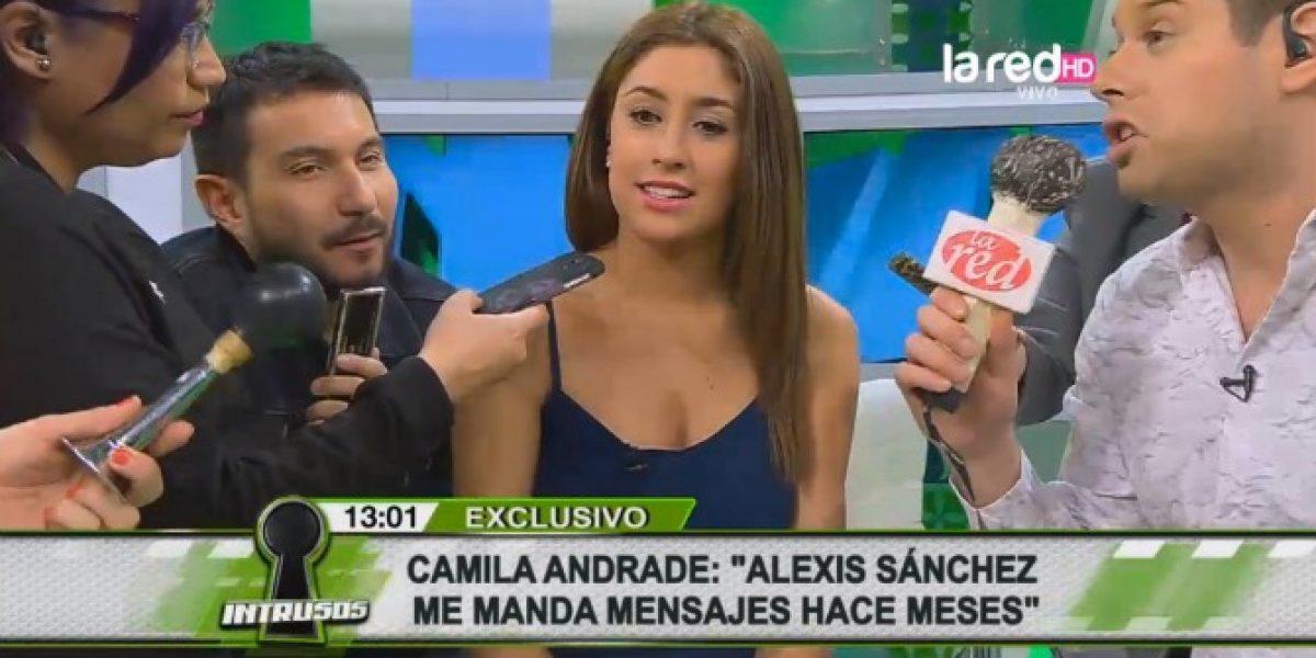 Camila Andrade confiesa que Alexis Sánchez la ha invitado a salir varias veces