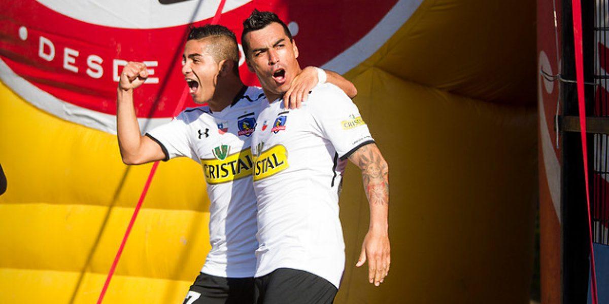 Para ver una y otra vez: El gol de Paredes que mantiene con vida a Colo Colo