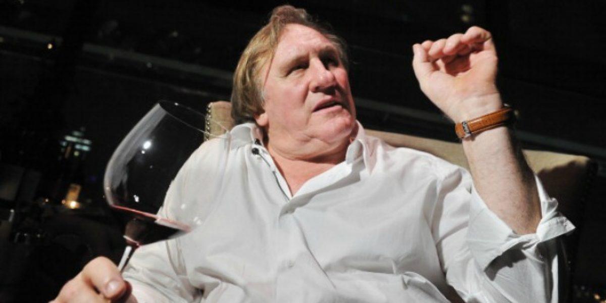 Otra más de Depardieu: