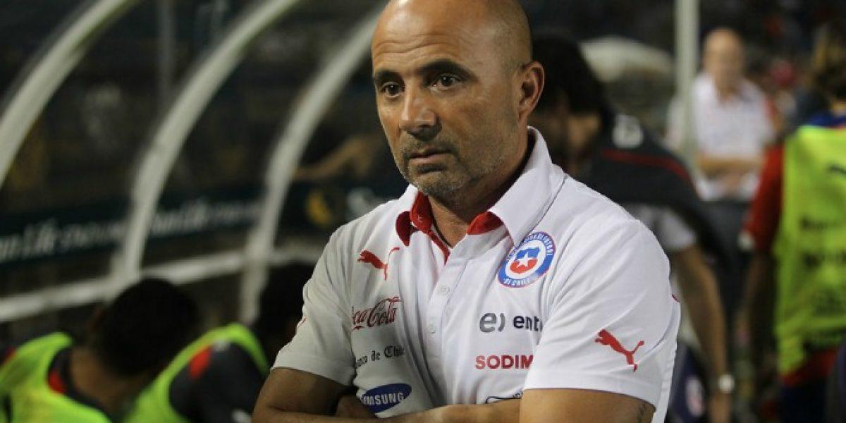 Jorge Sampaoli analizó el partido de Chile ante Perú