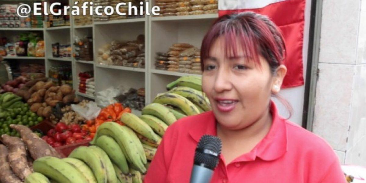 Peruanos en Chile reconocen el poderío de la Roja pero creen en una sorpresa