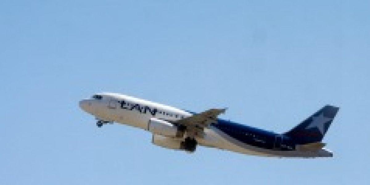 Latam Airlines señala que su tráfico de pasajeros ha aumentado en un 2,6%