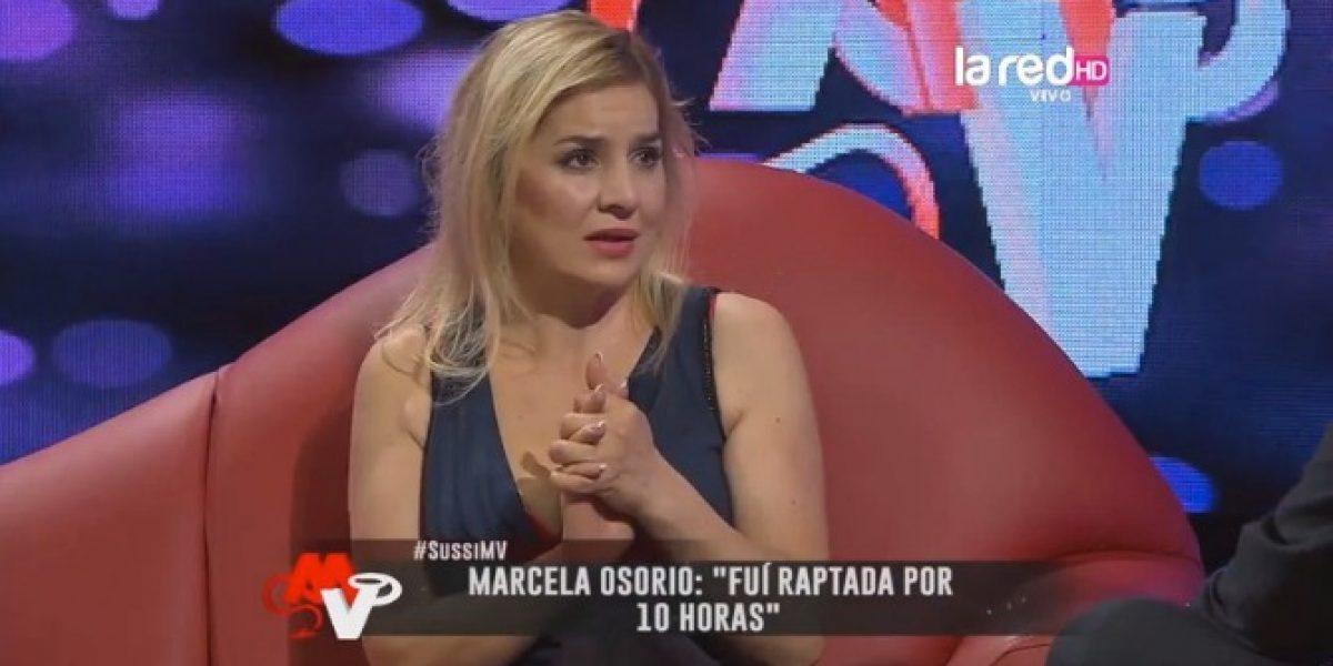 Marcela Osorio cuenta escalofriante experiencia:
