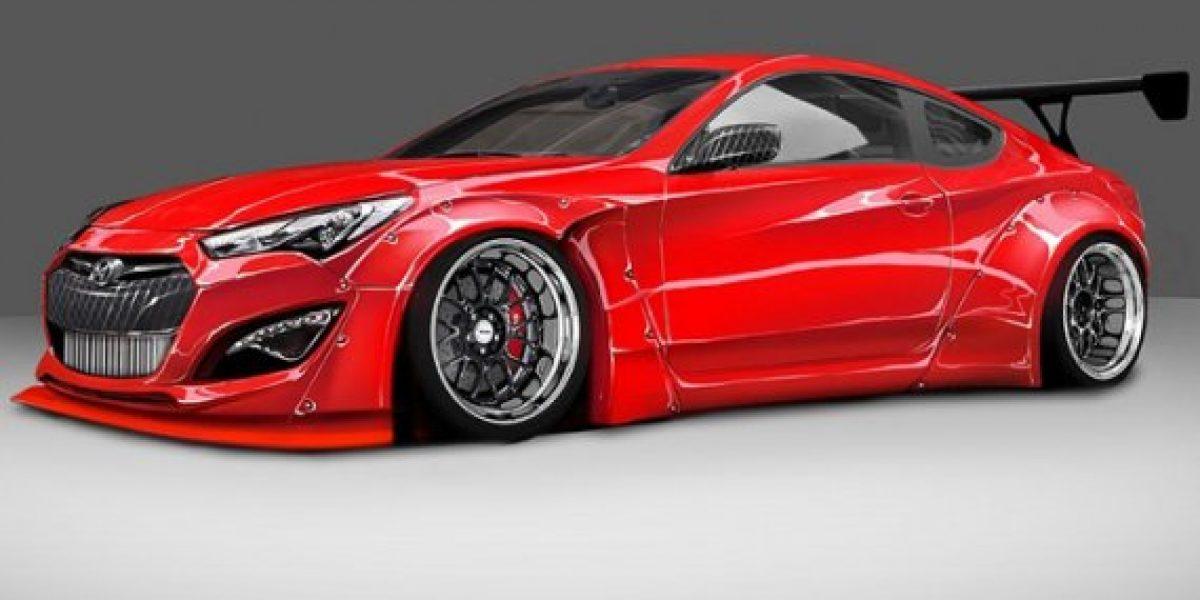 El Hyundai Genesis Coupé que se presentará en el próximo SEMA Show