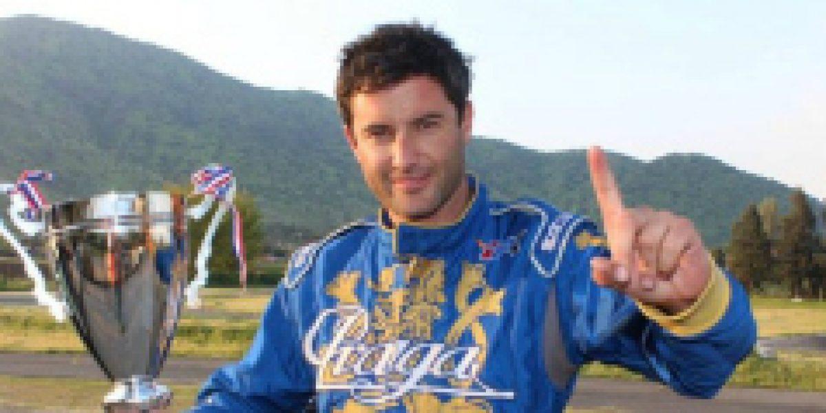La innovadora forma de financiamiento con que piloto chileno apunta al Mundial de Karting