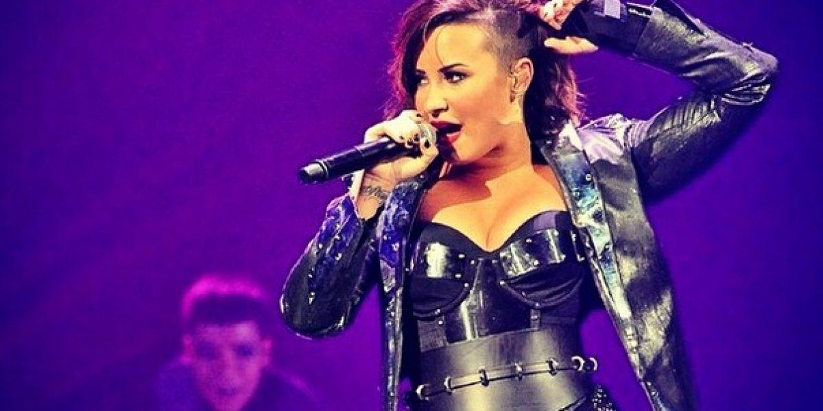 Demi Lovato muestra todo su look rockero en Instagram