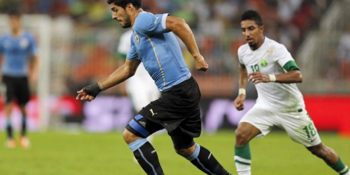 El tibio retorno de Luis Suárez a la selección uruguaya fue en un triste empate