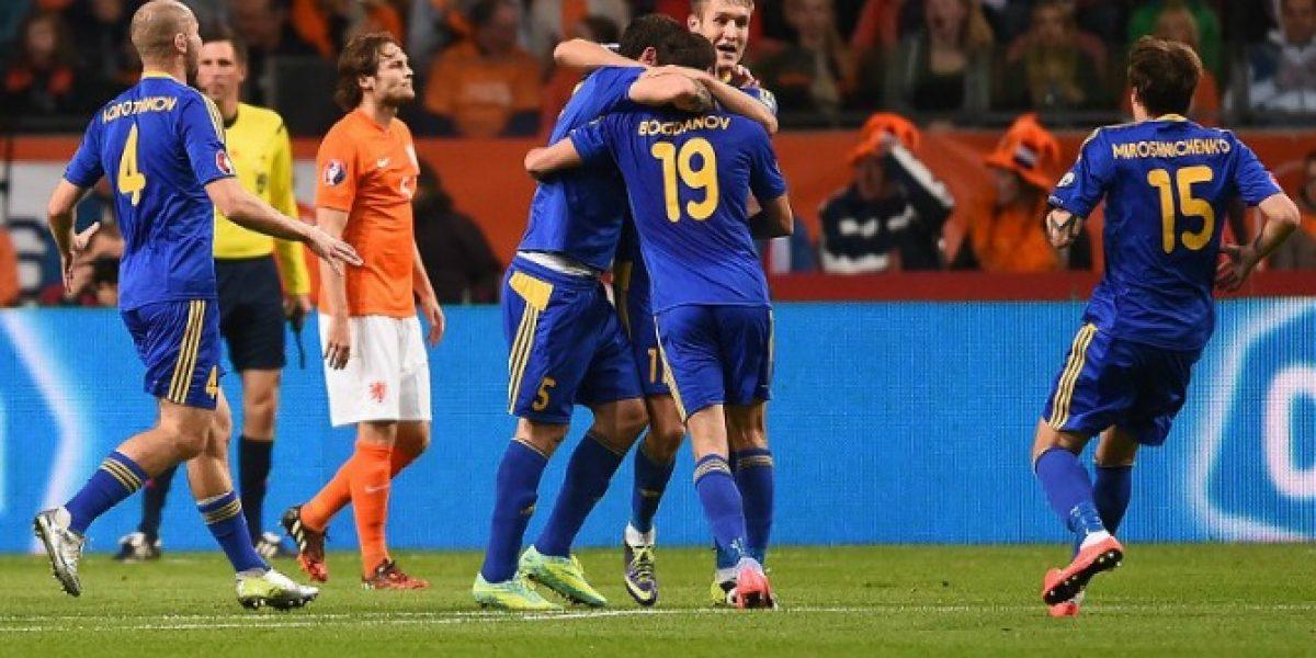 Video: ¡Sorpresa mundial! el gol de Kazajistán que asustó a Holanda
