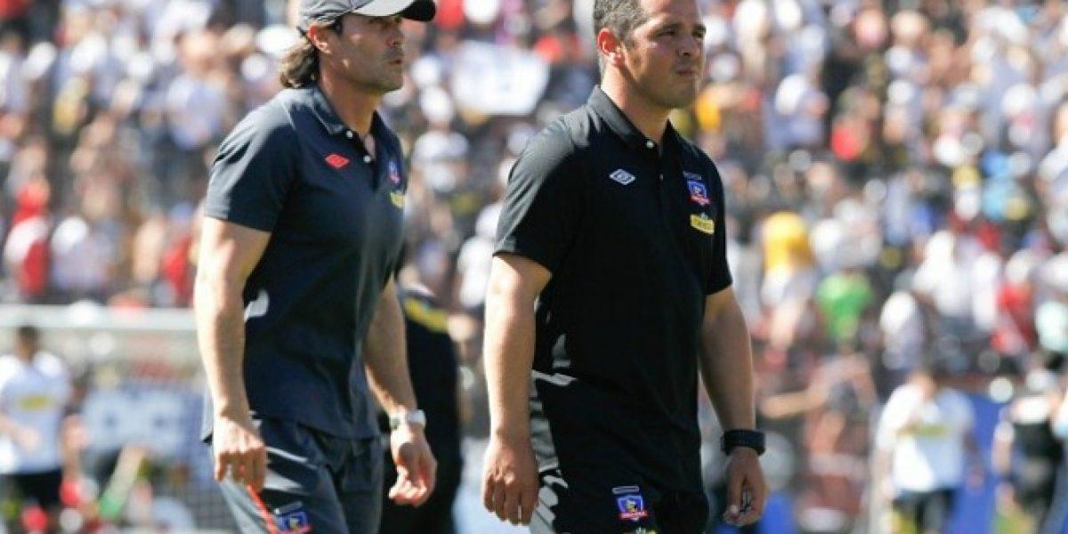El cuerpo técnico de Colo Colo sufrió en cancha la última victoria de la U en Macul