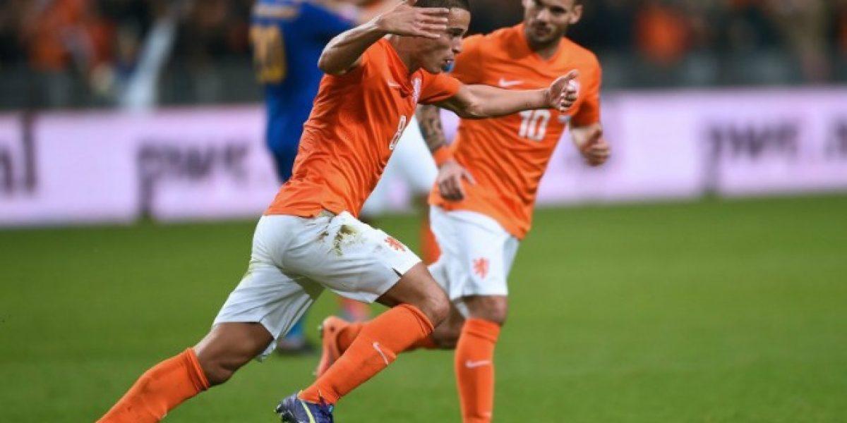 Afellay salvó a Holanda de un bochorno histórico en las clasificatorias de la Euro