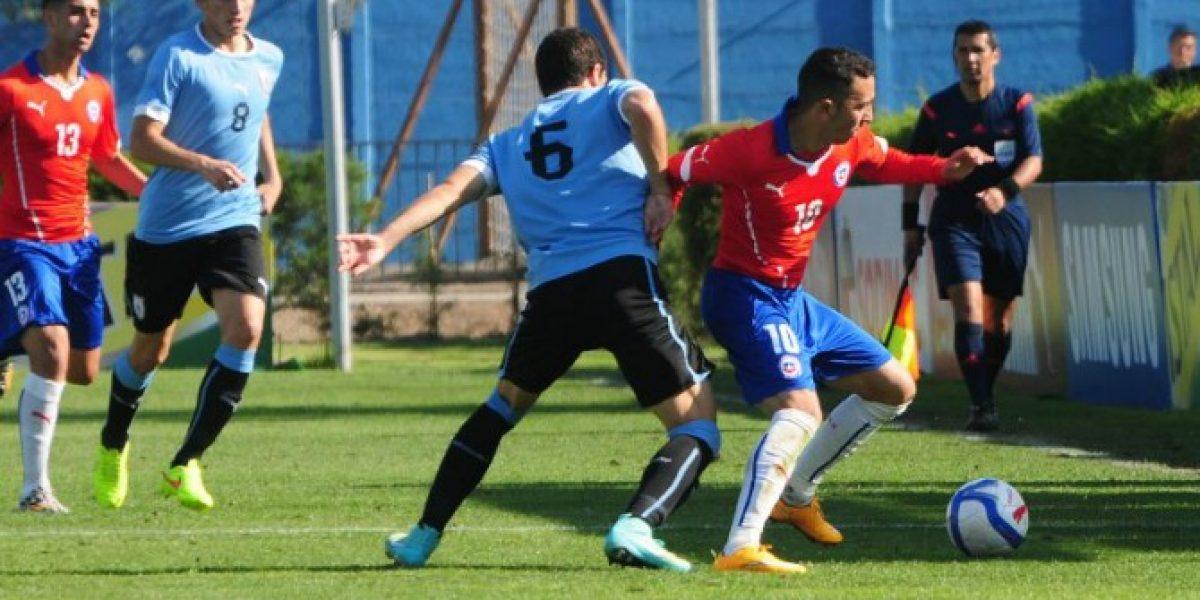 Chile Sub 20 goleó a Uruguay y consiguió su primer triunfo en el Cuatro Naciones