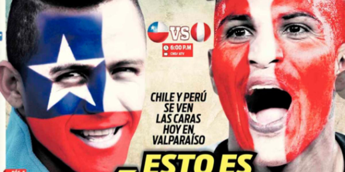 Los diarios peruanos insisten con el clásico y piden que haya paz