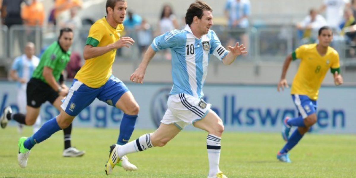 En directo: Argentina vs. Brasil
