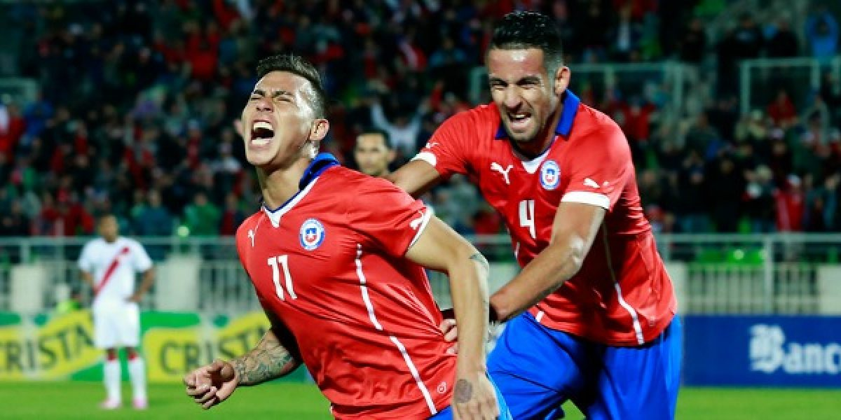 Así vivimos el triunfo de Chile sobre Perú en Playa Ancha