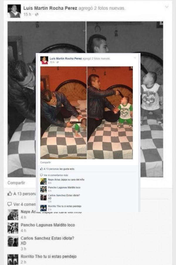 Estas son las imágenes que han comenzado a circular en redes sociales Foto:Luis Martín Rocha Pérez / Facebook / Twitter. Imagen Por: