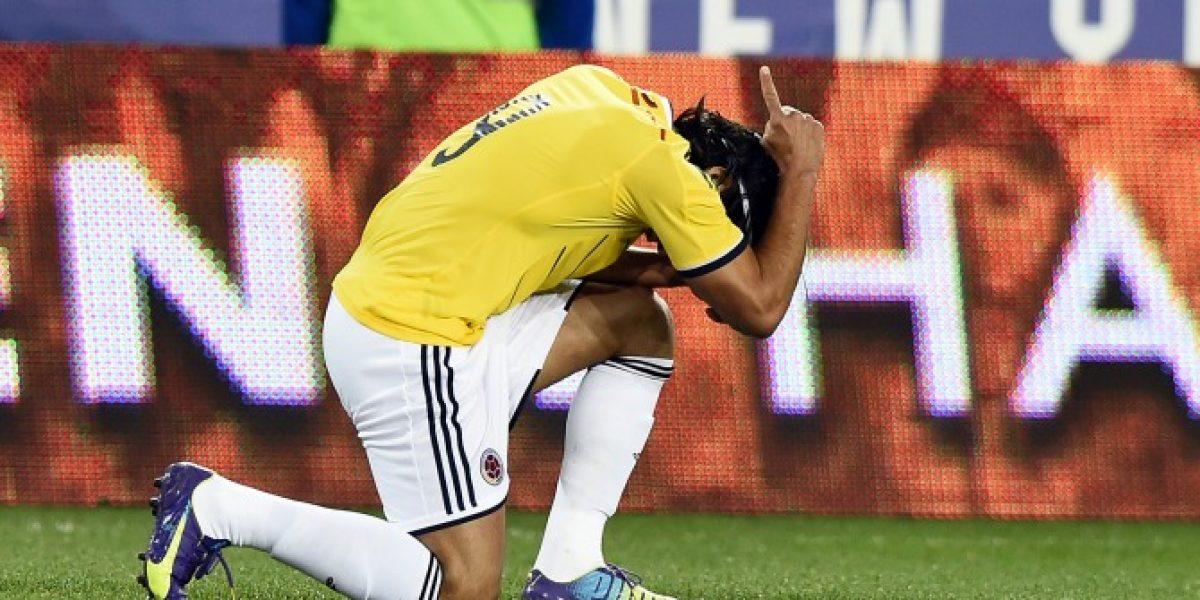 Lo hizo de nuevo: Falcao volvió a marcar por Colombia y celebró como su ídolo chileno