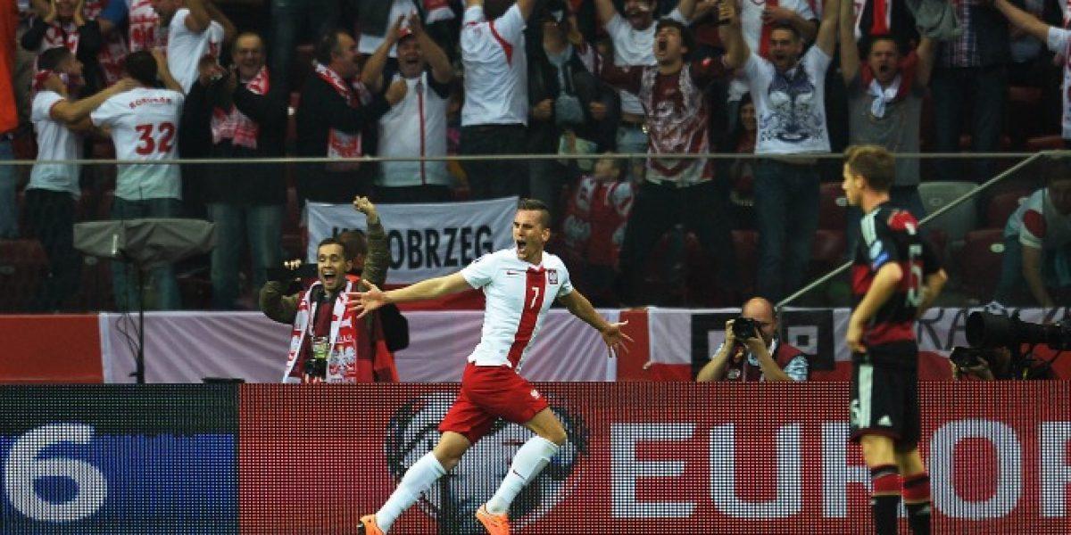 Polonia se hizo fuerte y derrotó a Alemania por primera vez en su historia
