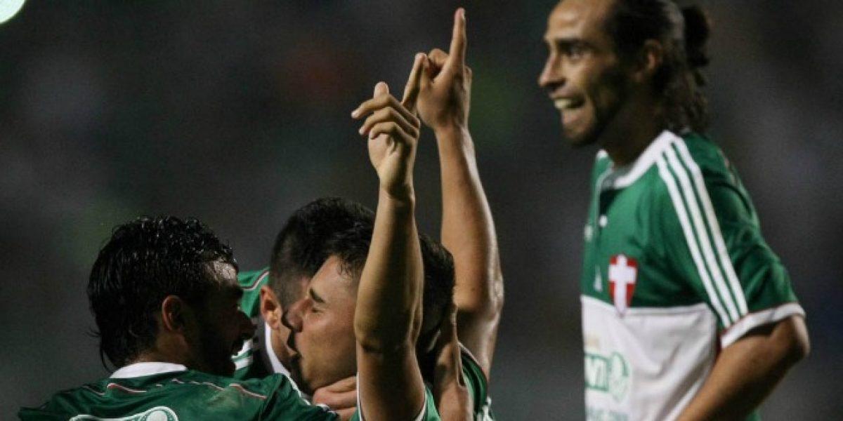 Valdivia le dio un penal a Gremio pero fue clave en la remontada de Palmeiras