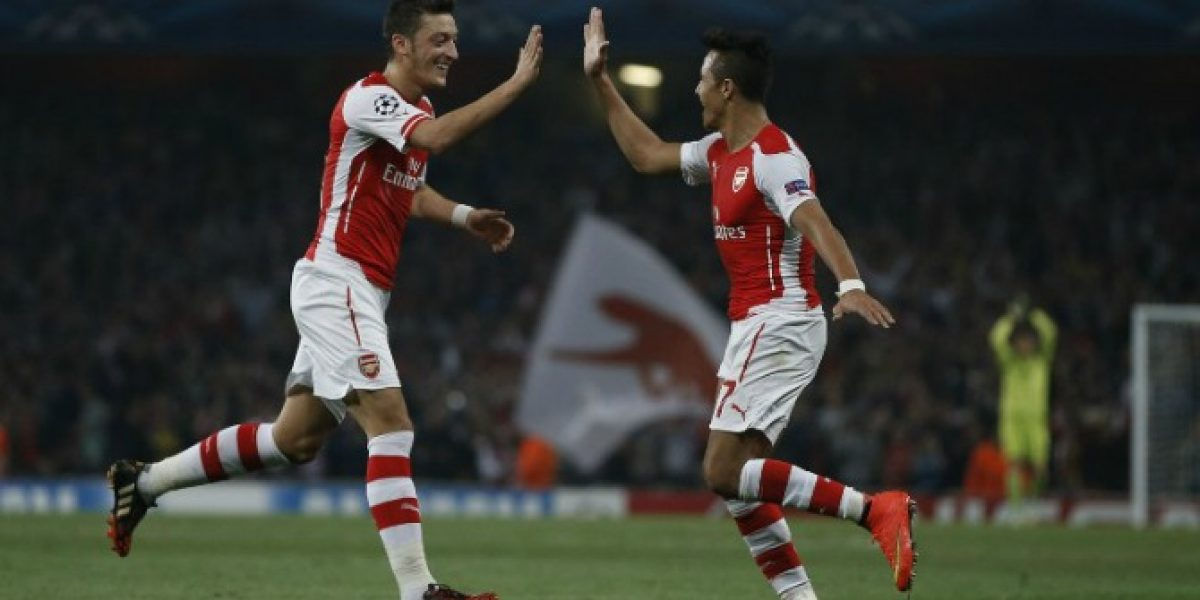 Mesut Özil quiere dejar el Arsenal y ya le buscan reemplazante