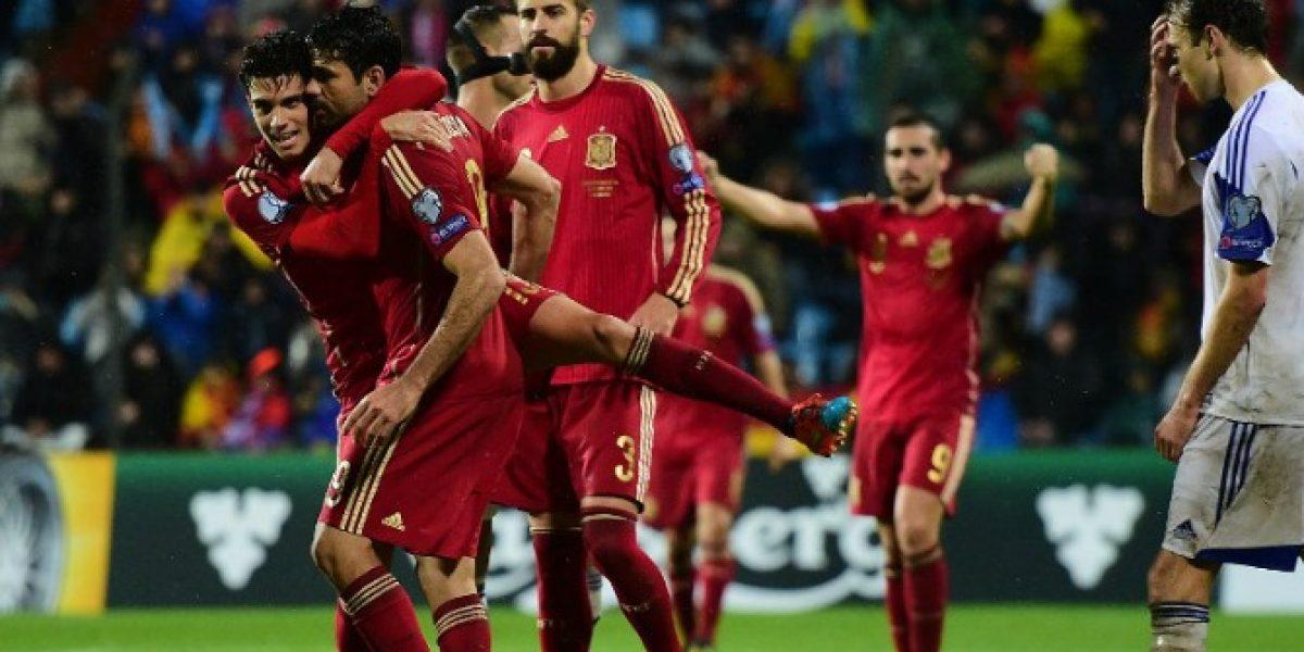 Por fin sonríe: El esperado gol de Diego Costa por España