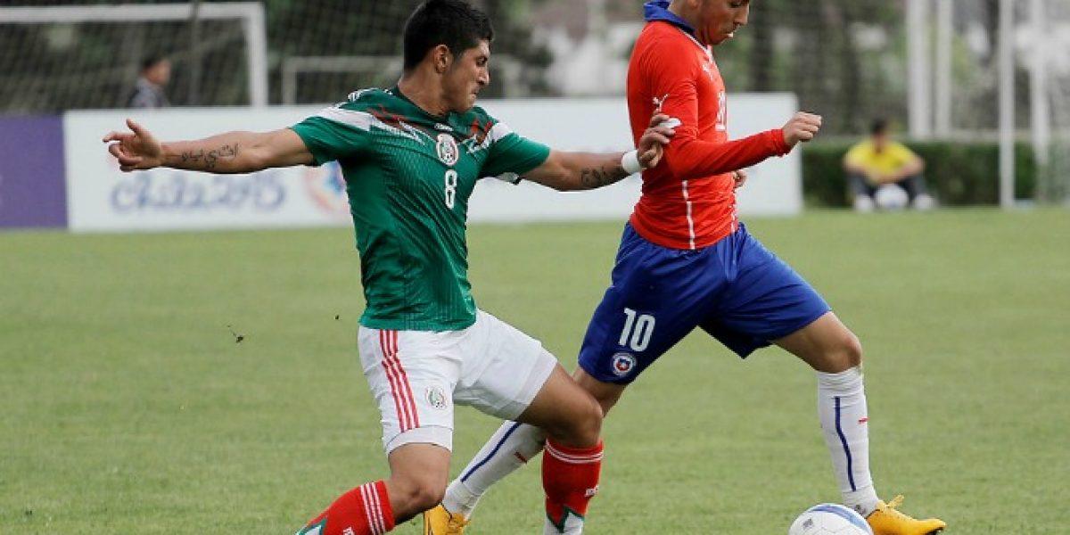 Chile perdió con México se quedó con el segundo puesto del Cuatro Naciones sub 20
