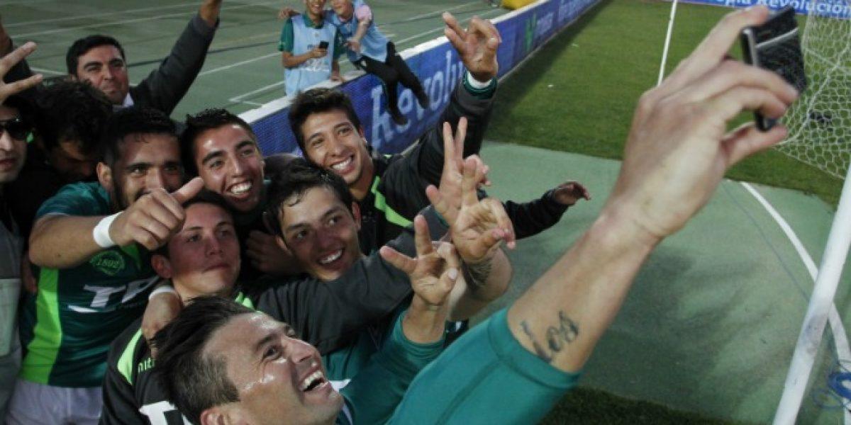 A la moda: la selfie del Pájaro Gutiérrez para celebrar en Wanderers