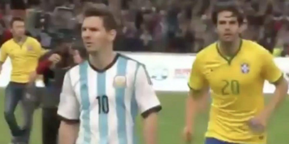 ¿Que pasó acá? ¿Messi despreció el saludo de Kaká?