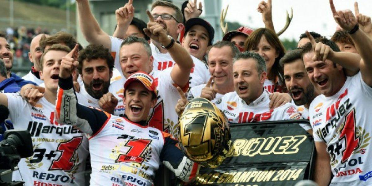 Marc Márquez brilla en Japón y logra su segundo Mundial de MotoGP