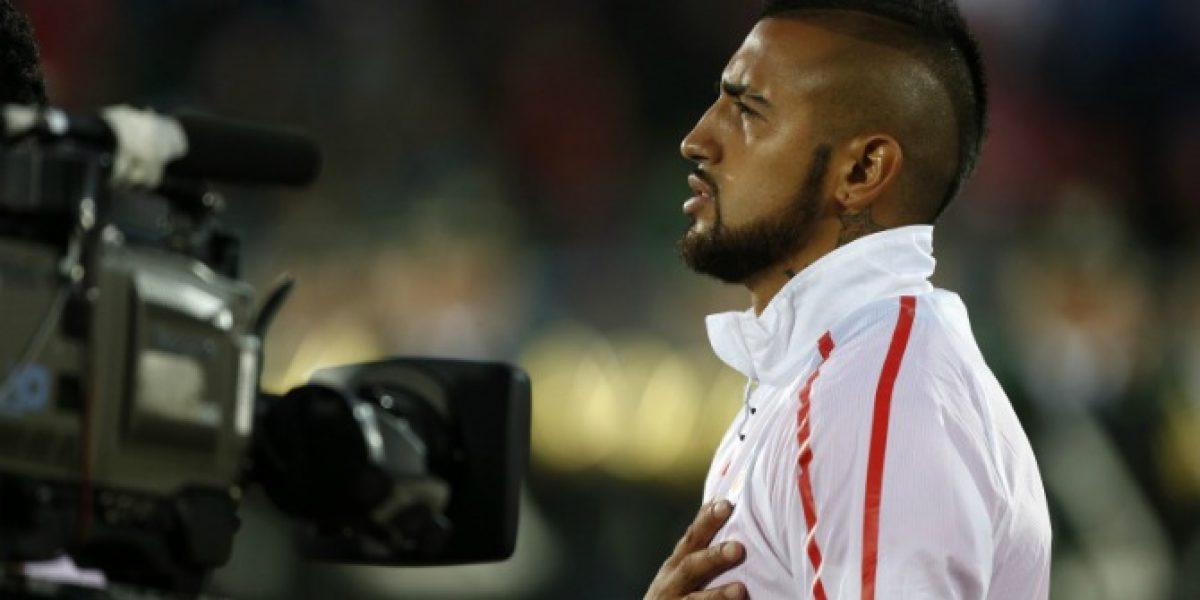 Preocupados por su rodilla: Juventus quiere que Vidal regrese a Turín