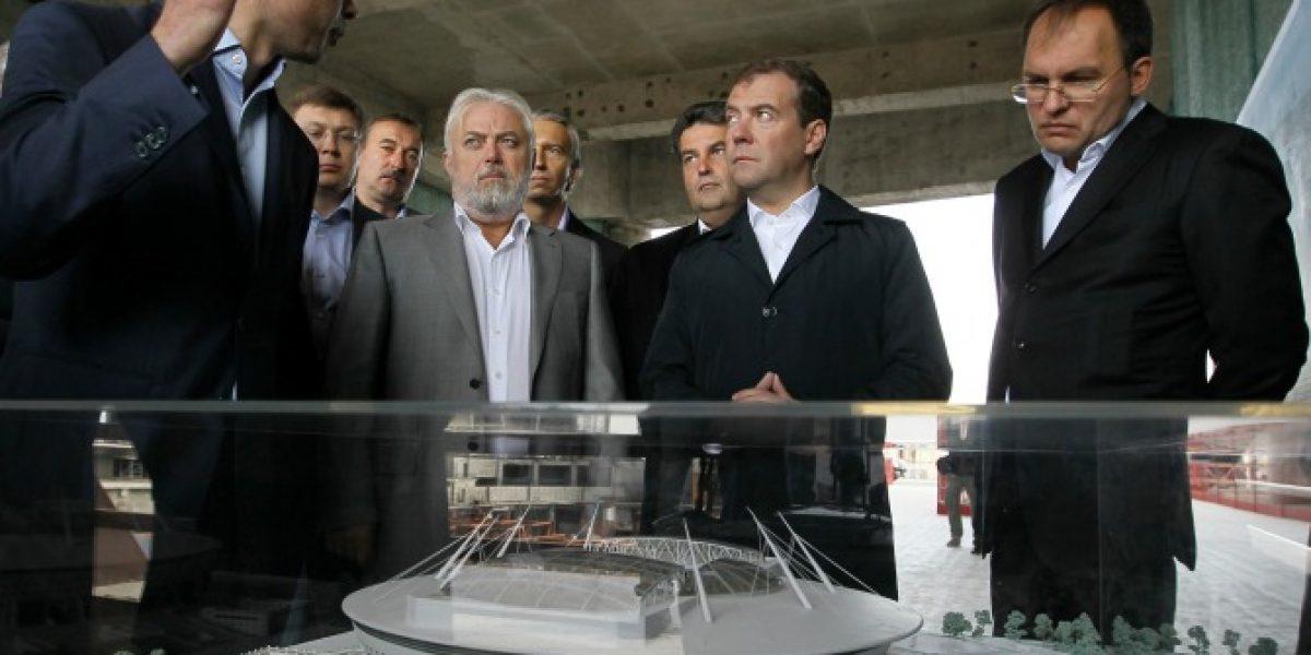 FIFA inicia esta semana la inspección de estadios del Mundial de Rusia 2018