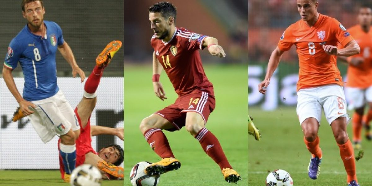 Revisa los goles de las eliminatorias para la Eurocopa 2016
